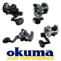 Okuma Lever Drag Reels