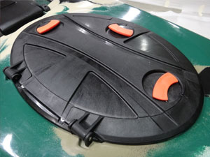 FEELFREE KAYAKS OVAL HINGE HATCH