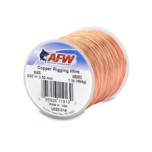 AFW COPPER RIGGING WIRE 1 LB SPOOL U020-01