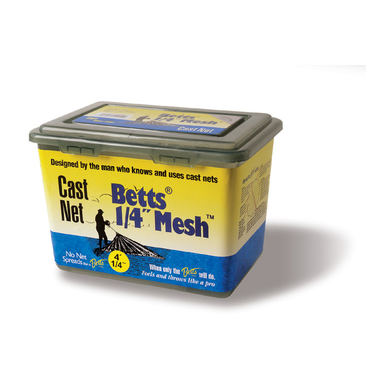 BETTS QUARTER INCH LEAD CAST NETS