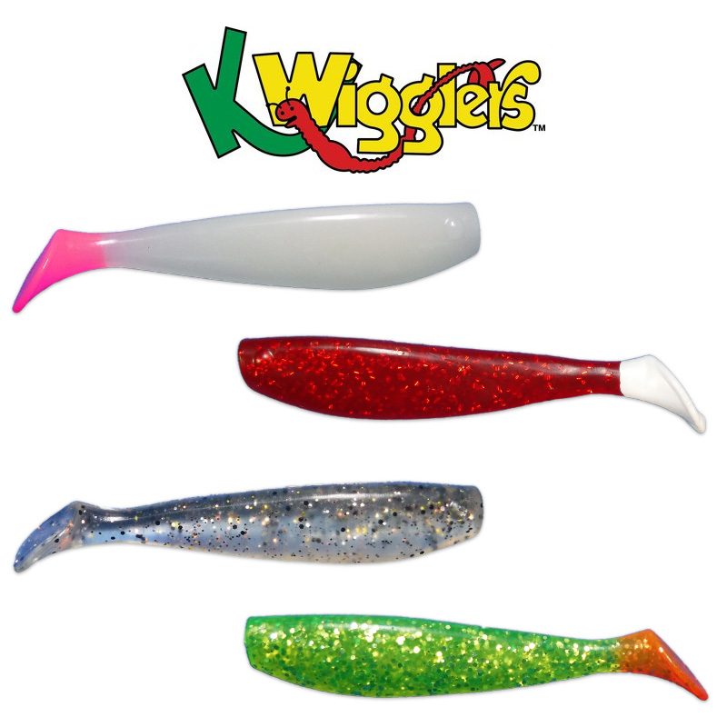 KWIGGLERS 4 INCH PADDLE TAIL