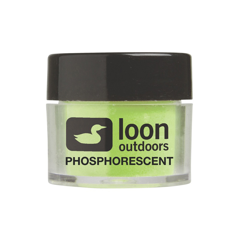 LOON OUTDOORS FLY TYING POWDERS PHOSPHORESCENT