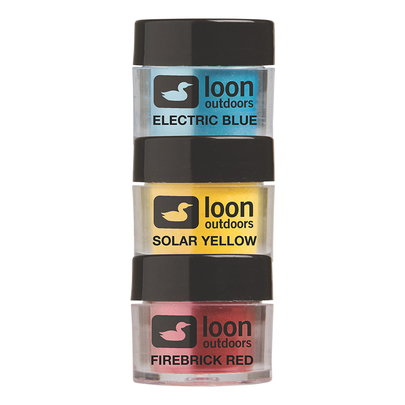 LOON OUTDOORS FLY TYING POWDERS PRIMARY