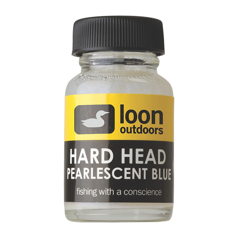 LOON OUTDOORS HARD HEAD FLY FINISH PEARLESCENT BLUE