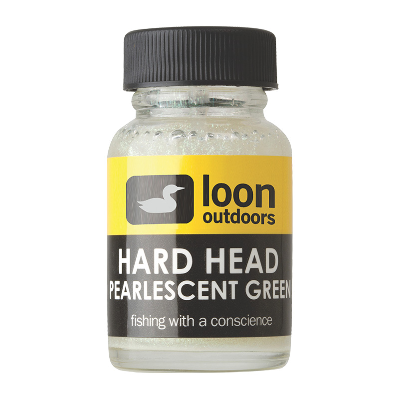 LOON OUTDOORS HARD HEAD FLY FINISH PEARLESCENT GREEN