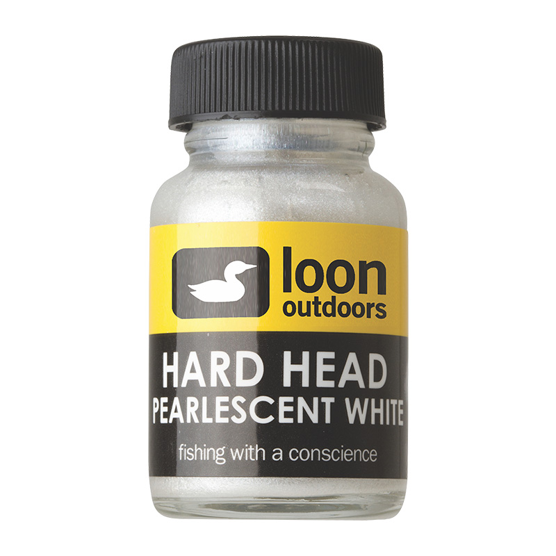 LOON OUTDOORS HARD HEAD FLY FINISH PEARLESCENT WHITE