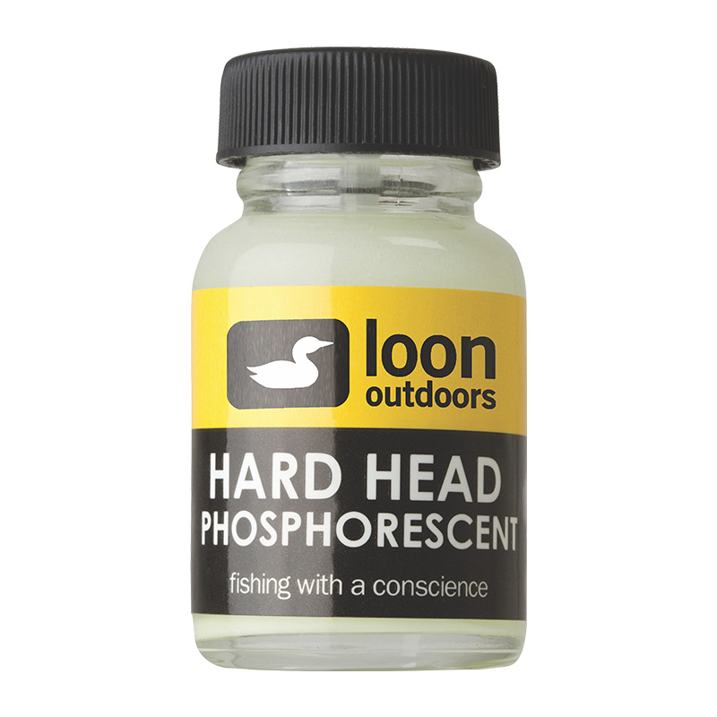 LOON OUTDOORS HARD HEAD FLY FINISH PHOSPHORESCENT