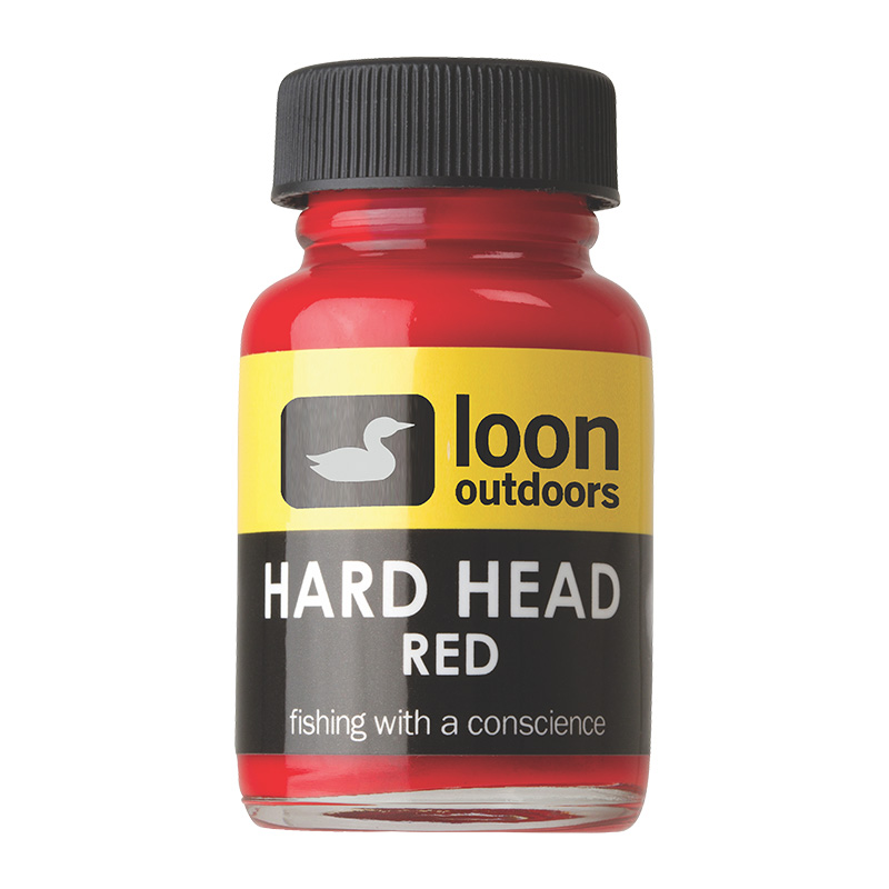 LOON OUTDOORS HARD HEAD FLY FINISH RED