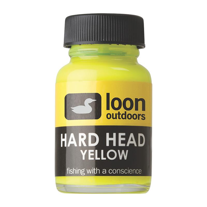 LOON OUTDOORS HARD HEAD FLY FINISH YELLOW