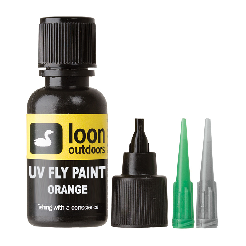 LOON OUTDOORS UV FLY PAINT ORANGE