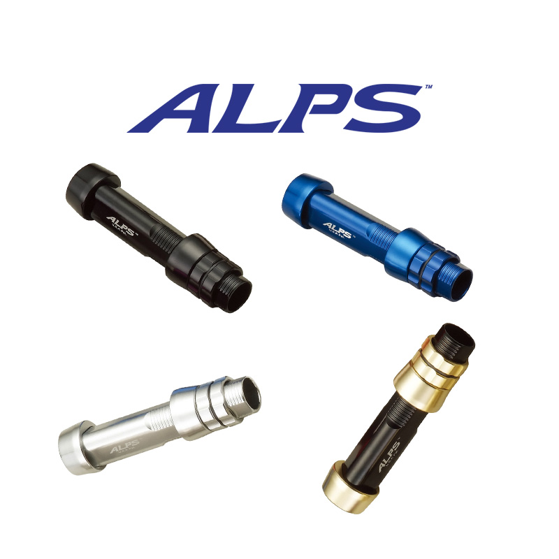 ALPS TRIANGLE ALUMINUM REEL SEATS