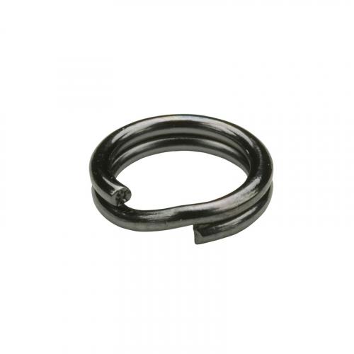 OWNER HOOKS HYPERWIRE SPLIT RINGS BLACK CHROME 5196BC