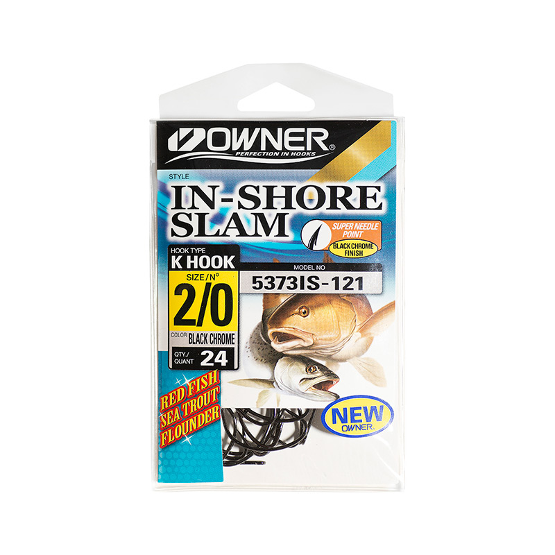 OWNER INSHORE SLAM K HOOKS 5373IS-PACK