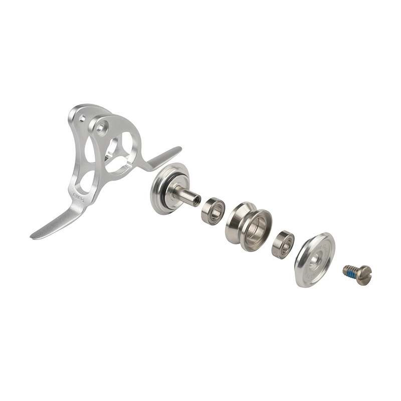 ALPS 80 LB ROLLER GUIDES MSRX FEATURES