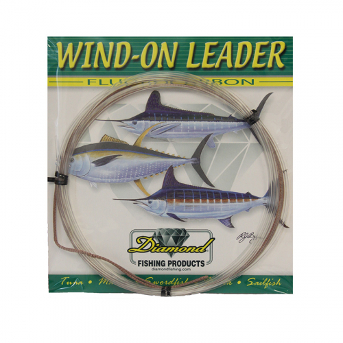 DIAMOND FISHING PRODUCTS WIND ON LEADER FLUOROCARBON