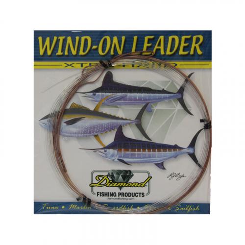 DIAMOND FISHING PRODUCTS WIND ON LEADER XTRA HARD