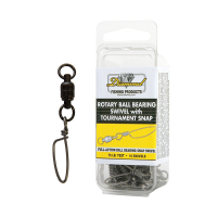DIAMOND ROTARY BALL BEARING SWIVELS WITH TOURNAMENT SNAP