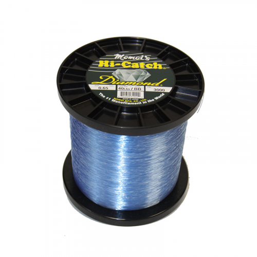 MOMOI HI-CATCH DIAMOND NYLON MONOFILAMENT LINE BRILLIANT BLUE