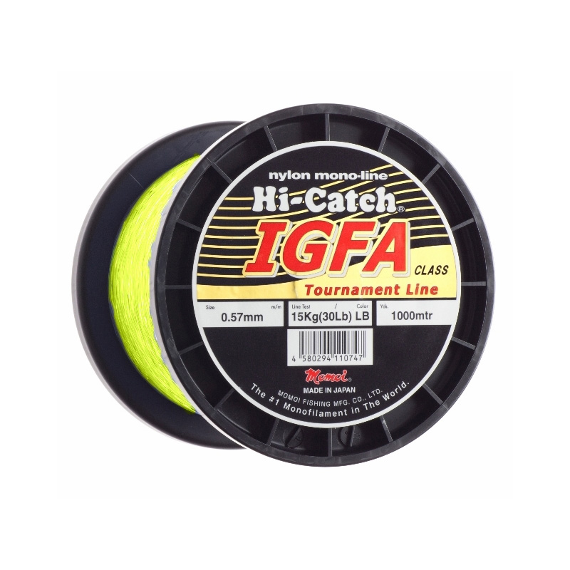 MOMOI HI-CATCH IGFA NYLON MONOFILAMENT LINE