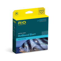 RIO OUTBOUND SHORT TROPICAL FLY LINES