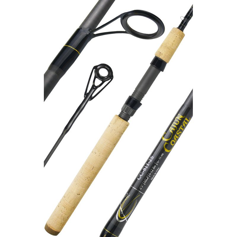 CAJUN CUSTOM RODS CAJUN COASTAL SPINNING SERIES CC-811-2S