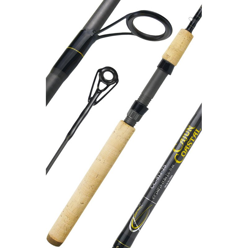 CAJUN CUSTOM RODS CAJUN COASTAL SPINNING SERIES CC-812-2S