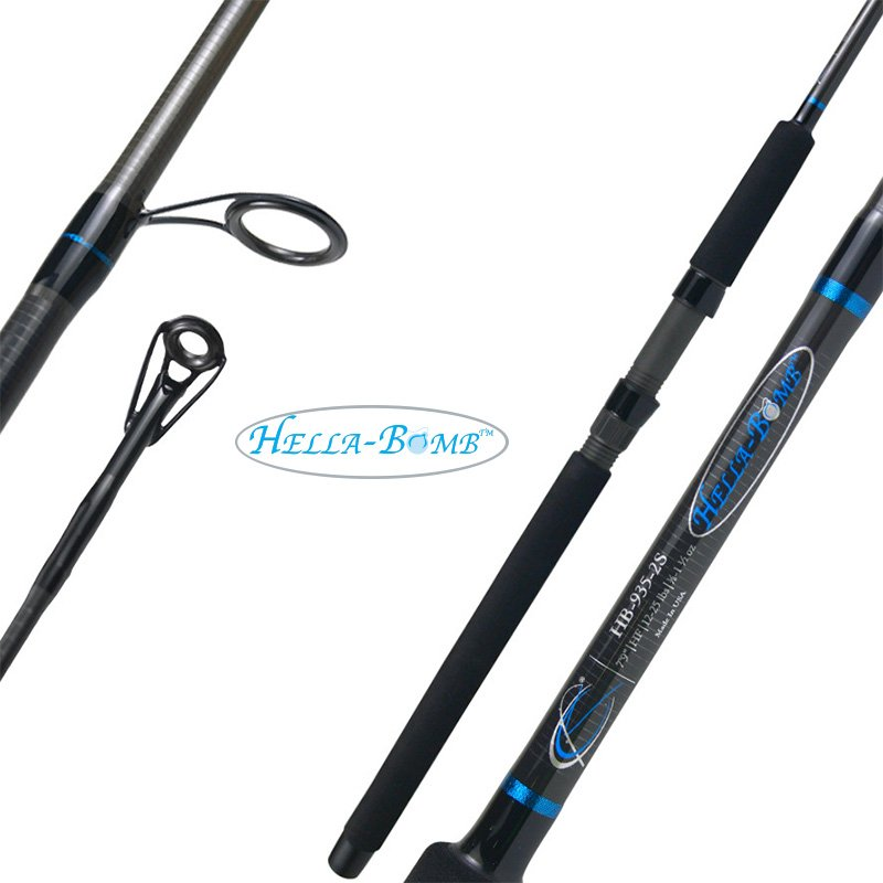 CAJUN CUSTOM RODS HELLA-BOMB SPINNING RODS