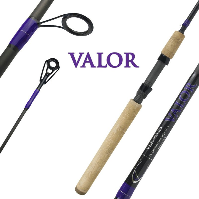 CAJUN CUSTOM RODS VALOR SPINNING RODS