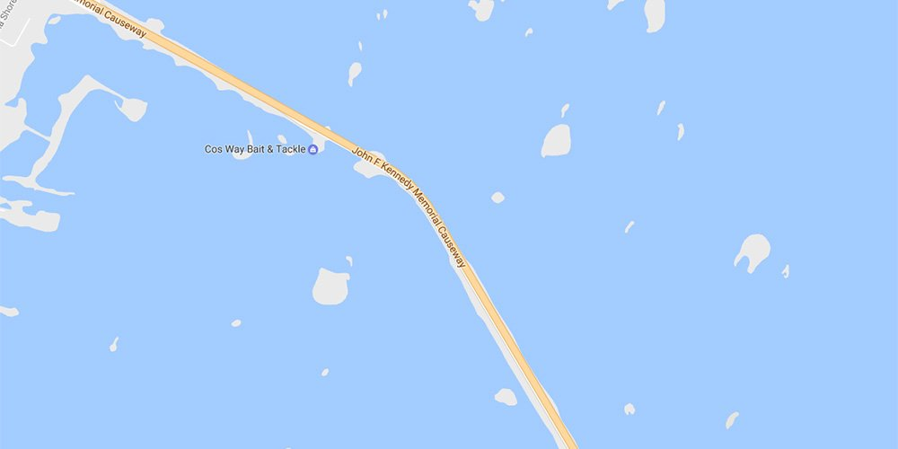 KAYAK DEMOS LOCATED ON LAGUNA MADRE ACCESS ROAD JFK CAUSEWAY