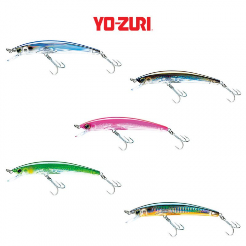 YO-ZURI CRYSTAL 3D FLOATING MINNOW