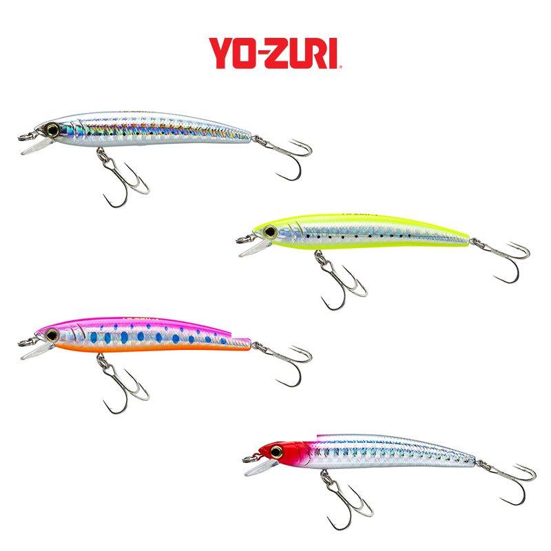 Yo-Zuri Original Crystal Minnow 11cm 11g Floating Köder Wobbler FARBEN