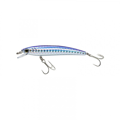 YO-ZURI PINS MINNOW FLOATING F1162 M177 SILVER BLUE
