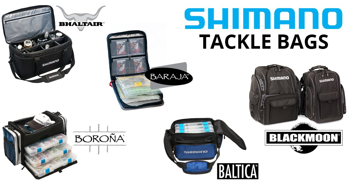 Shimano bags roy 39 s bait and tackle outfitters for Roy s fishing supply