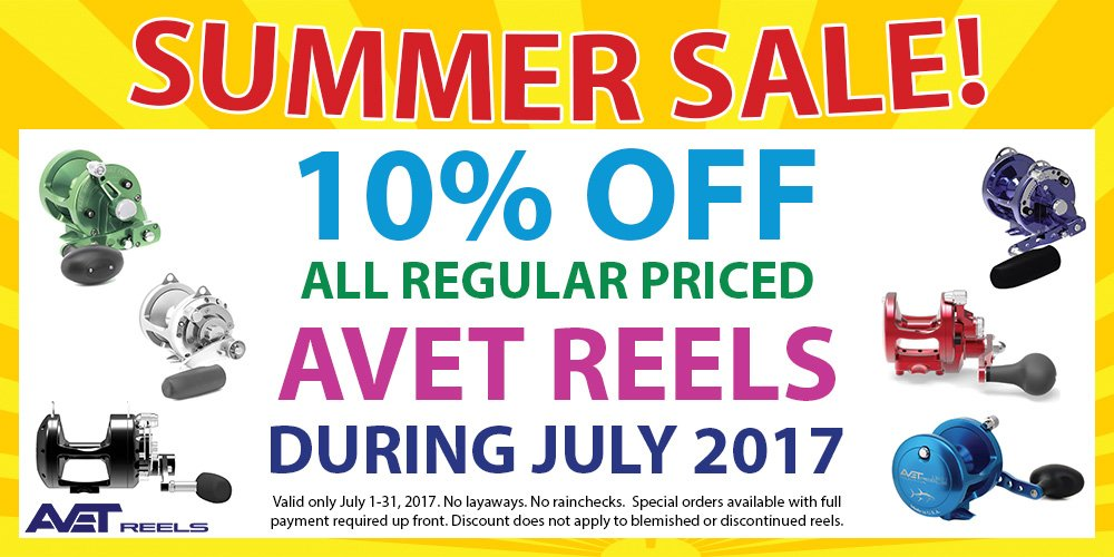 AVET SUMMER SALE