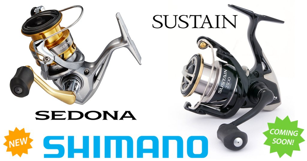 PRE-ORDER SHIMANO SEDONA SUSTAIN BLOG POST