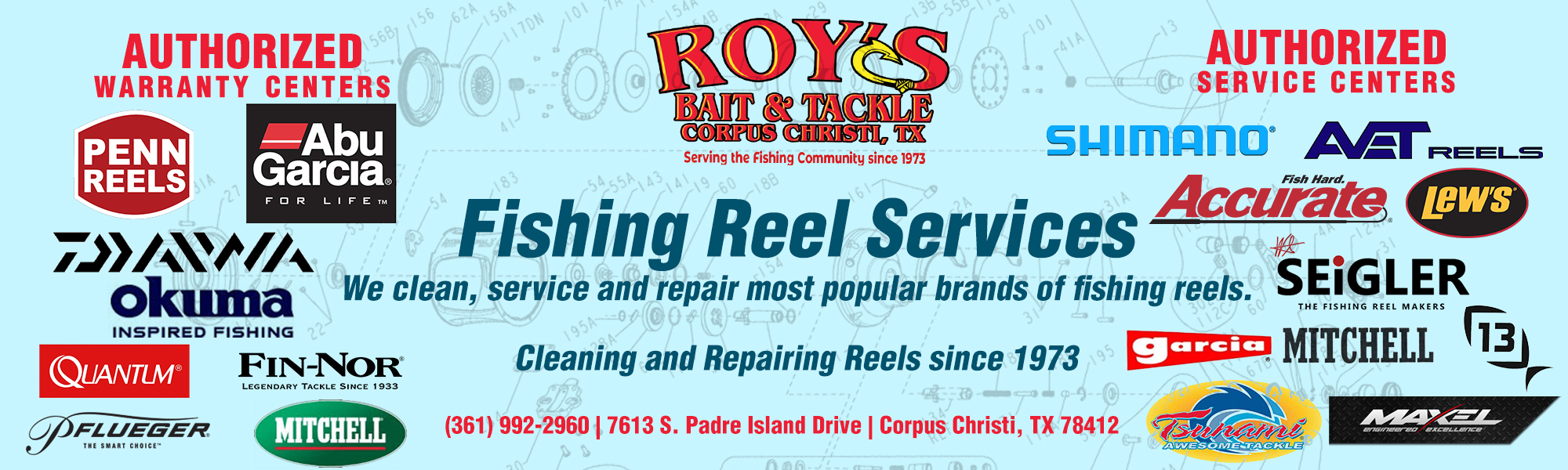 Rod and Reel Services