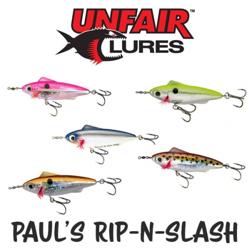 UNFAIR LURES PAULS RIP-N-SLASH