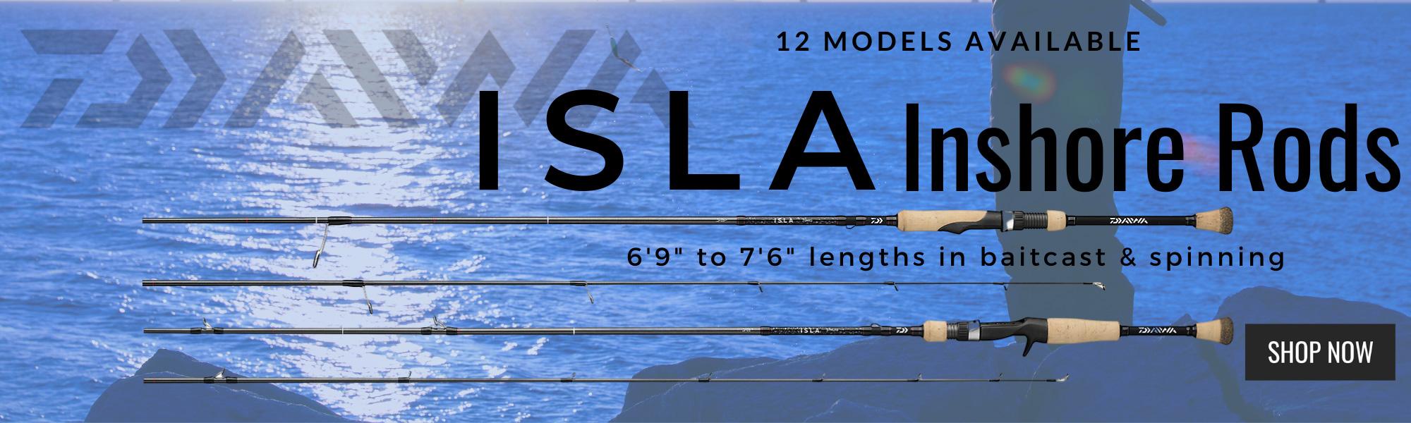 isla inshore rods