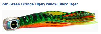 GREENORANGETIGERYELLOWTIGER